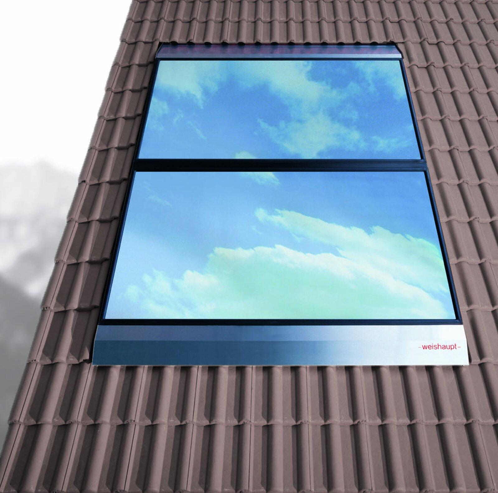 Solarpanels auf dem Hausdach